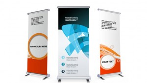 Retractable Banners | Pull Up Banners - SLB Printing