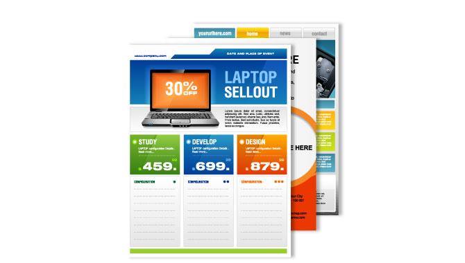 Sales Sheet Printing - SLB Printing