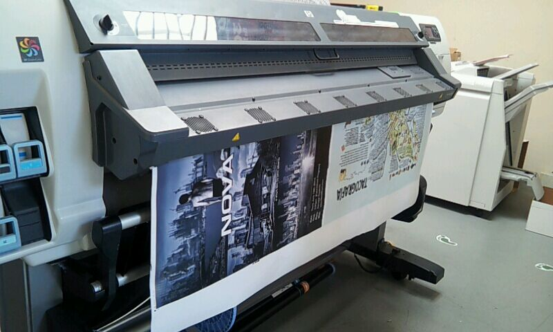 Wide Format Printing with Latex Inks in Los Angeles