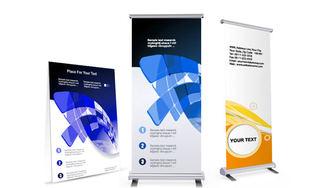 Retractable Banners | Pull Up Banners | from SLB Printing in Los Angeles