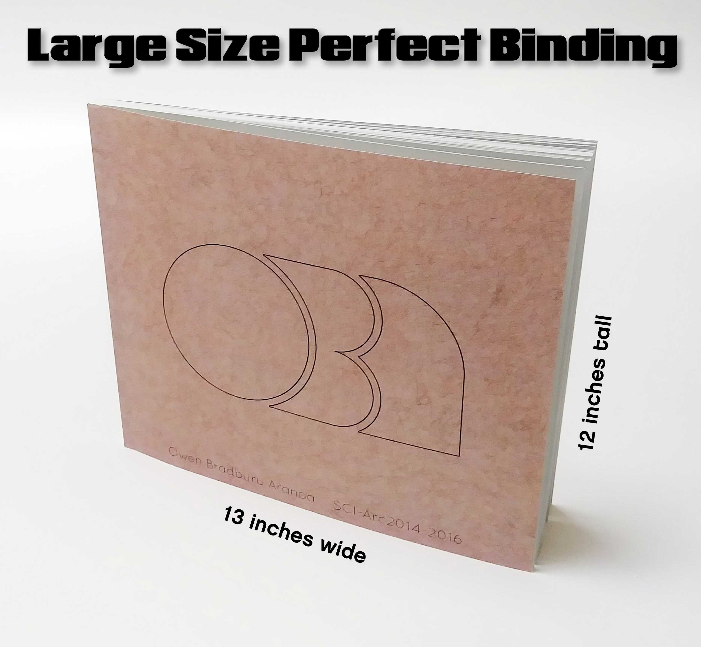 Landscape perfect bound short run options from SLB Printing in Los Angeles
