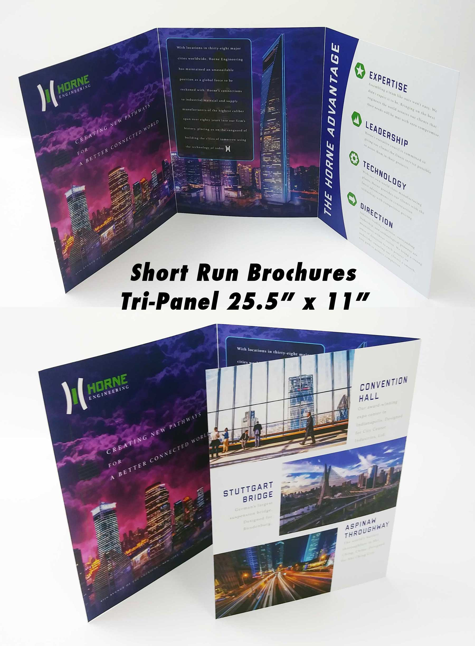 Short Run Tri-Fold Brochure up to 30