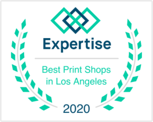 SLB Printing noted as one of the Best Print Shops in Los Angeles for 2020